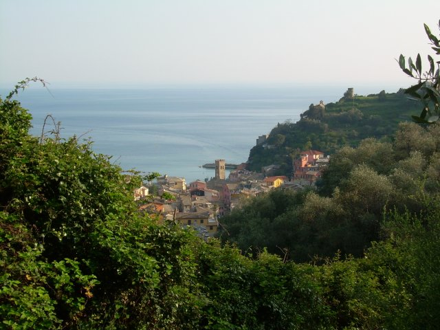 Between Monterosso and Soviore