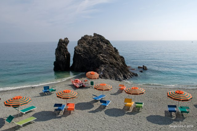 The little beach of Monterosso