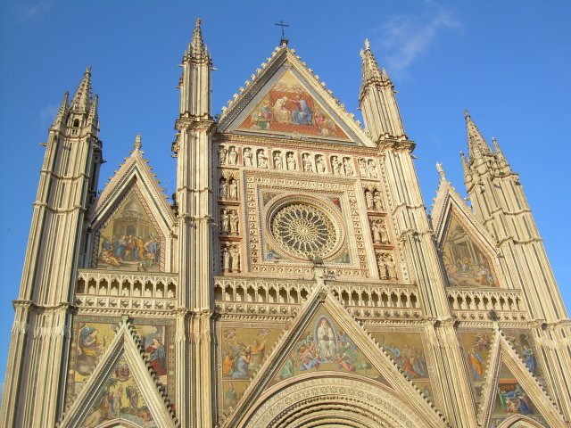Façade of the Orvieto Cathedral