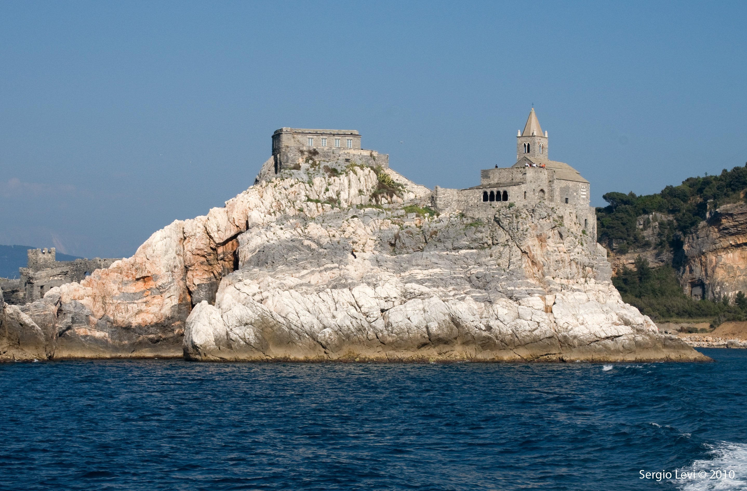 The Church of San Pietro, Porto Venere